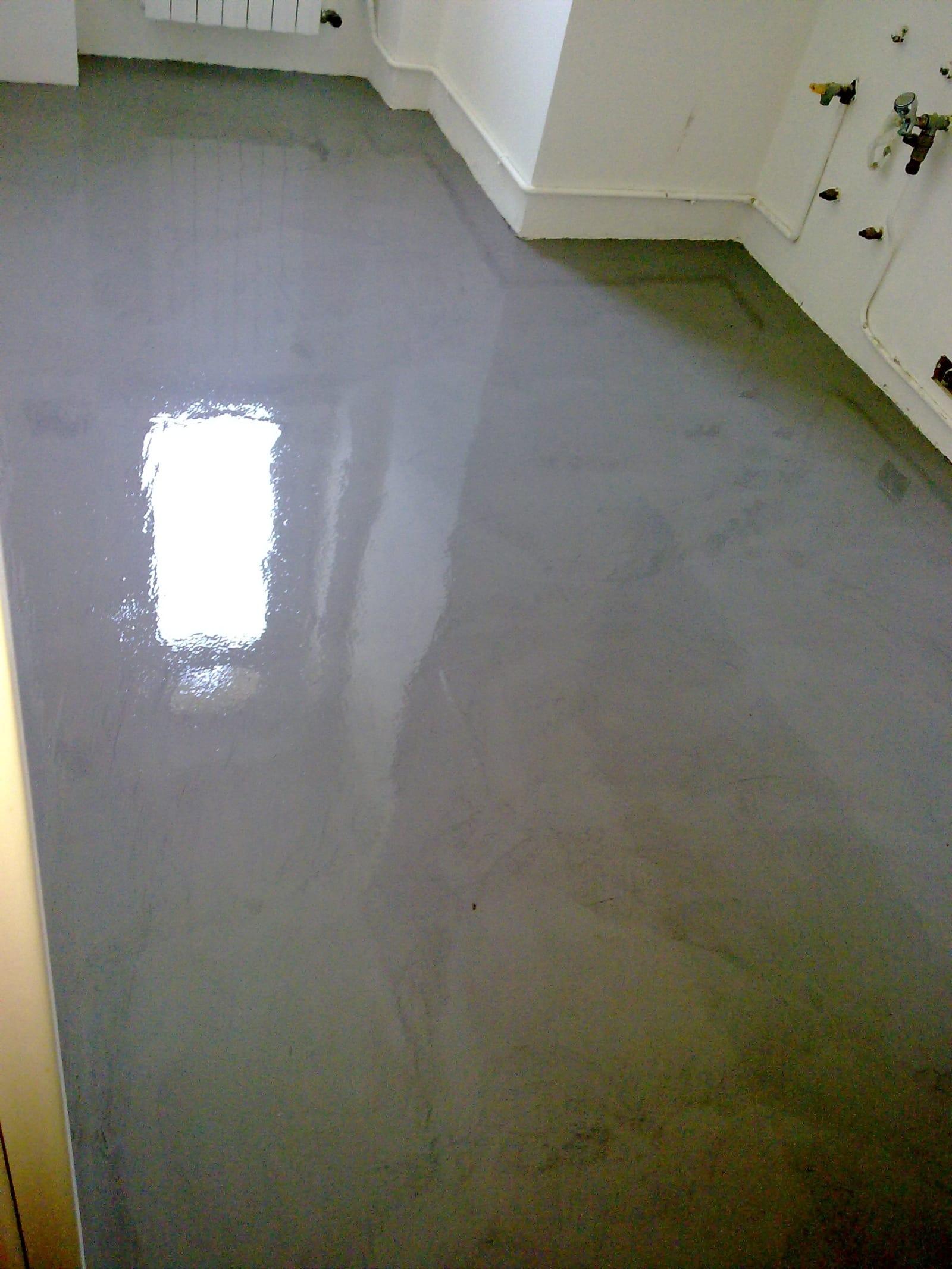 pavimento in resina cucina – ENNI COLOR