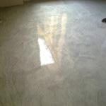 pavimento in resina spatolata lucida