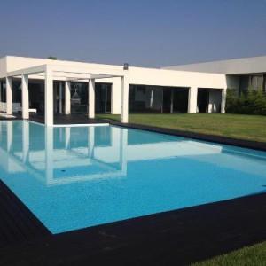 piscina in resina