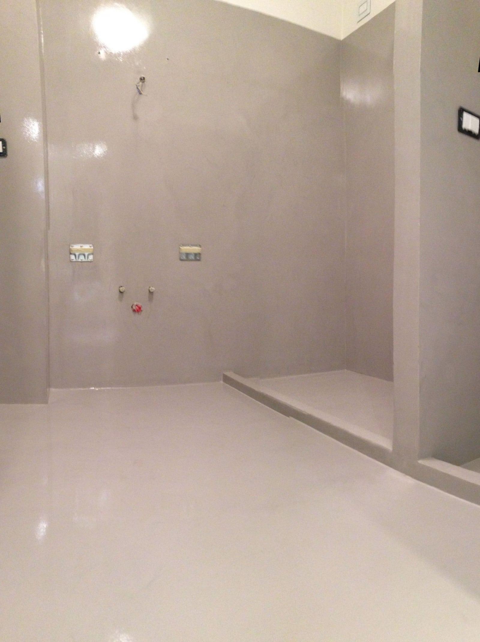 Gallery of bagno doccia in resina with resina bagno - Pareti doccia in resina ...