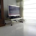 pavimento resina bianca