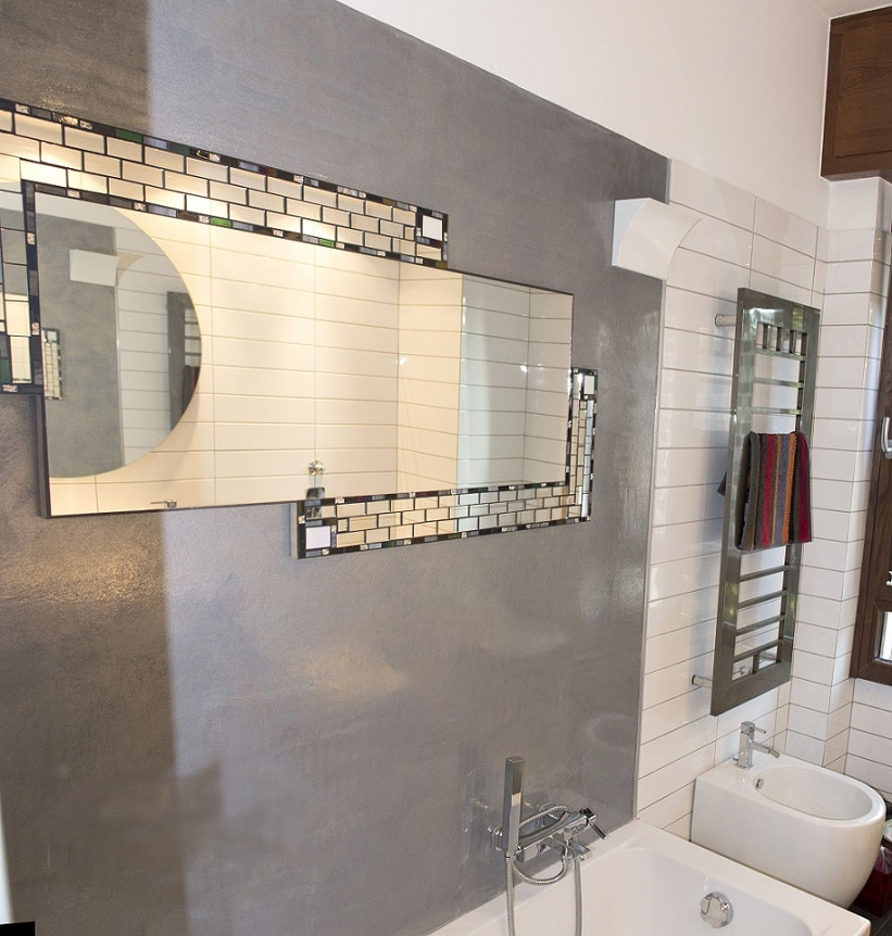 Casa immobiliare accessori parete resina - Resina per pareti bagno ...